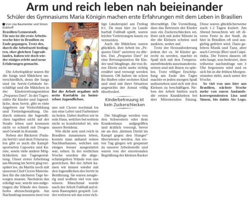 Arm und reich leben nah beieinander (SK, 21.07.2010)