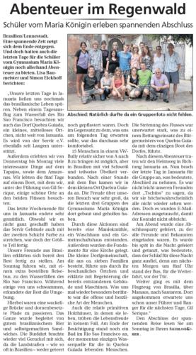 Abenteuer im Regenwald (SK, 11.08.2010)